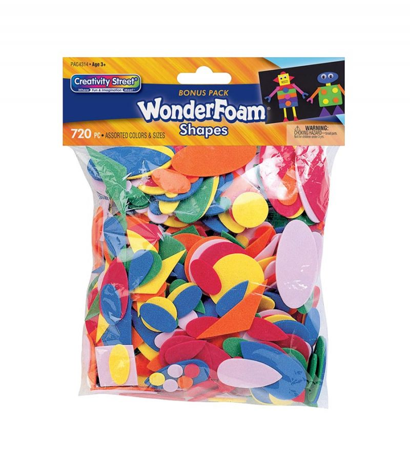 Creativity Street® WonderFoam® Shapes Assortment