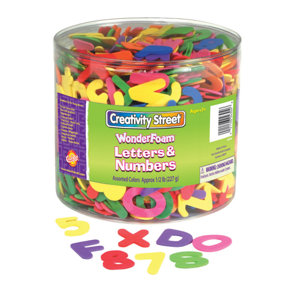 Creativity Street® WonderFoam® Letters and Numbers