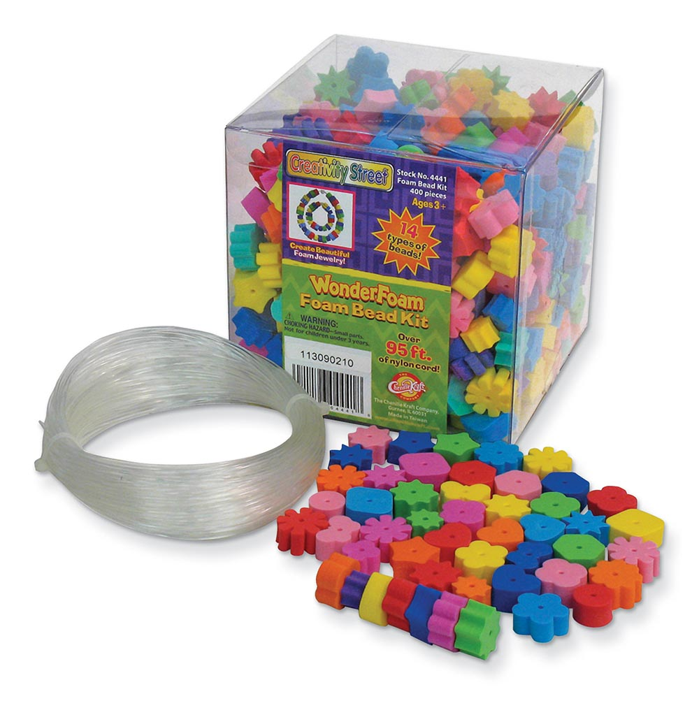 Creativity Street® WonderFoam® Foam Bead Assortment