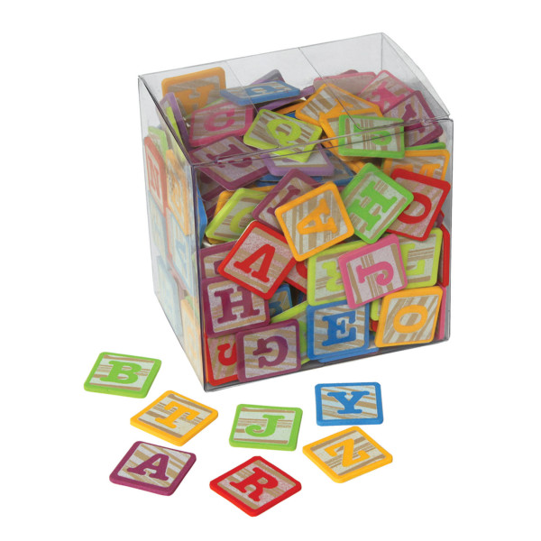 Creativity Street® WonderFoam® Peel and Stick Alphabet Block Stickers